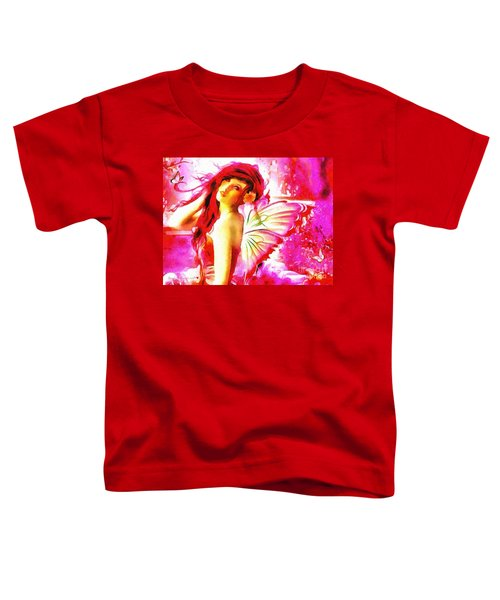 Fairy Angel In The Mix In Thick Paint Toddler T-Shirt