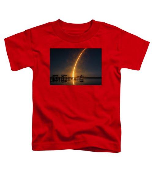 Falcon 9  Night Launch Toddler T-Shirt