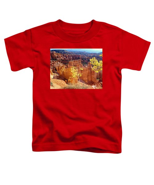 Fall In Bryce Canyon Toddler T-Shirt