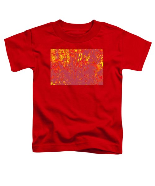 Fall Leaves #4 Toddler T-Shirt