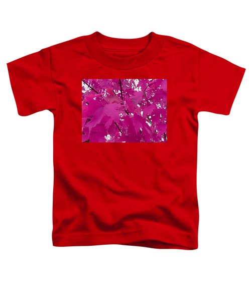 Fall Leaves #5 Toddler T-Shirt