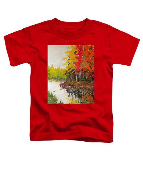 Fall Scene Toddler T-Shirt