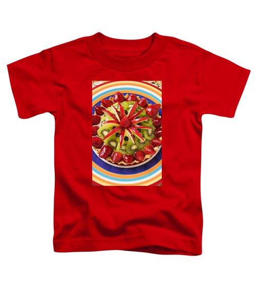 Fancy Tart Pie Toddler T-Shirt by Garry Gay