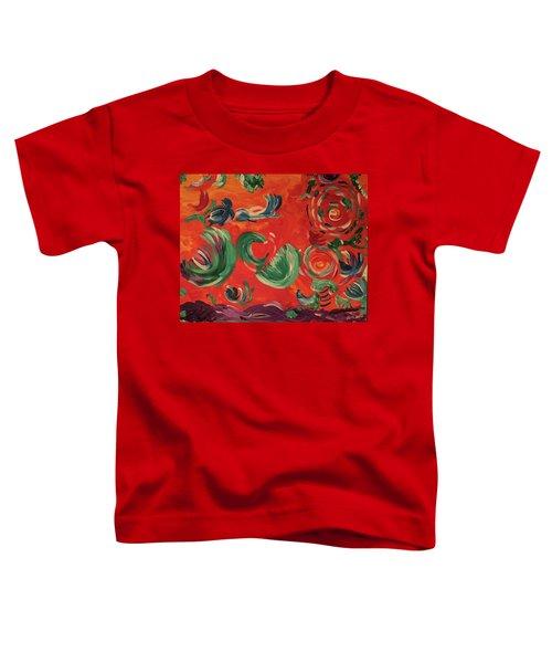 Flight Of Lotus Toddler T-Shirt