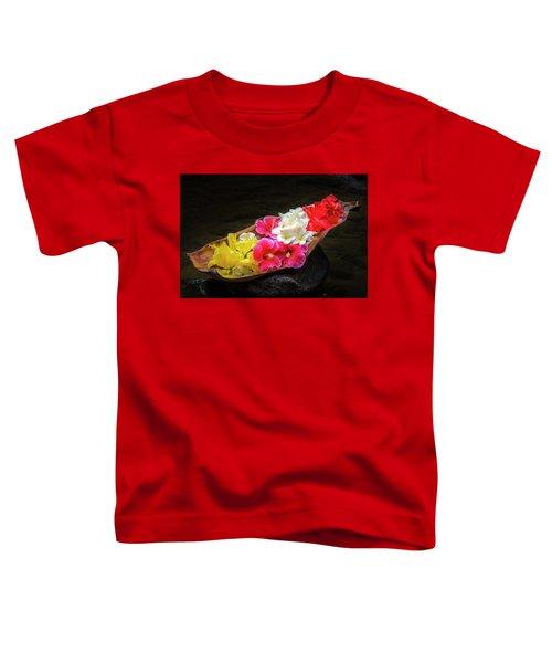 Flower Boat Toddler T-Shirt