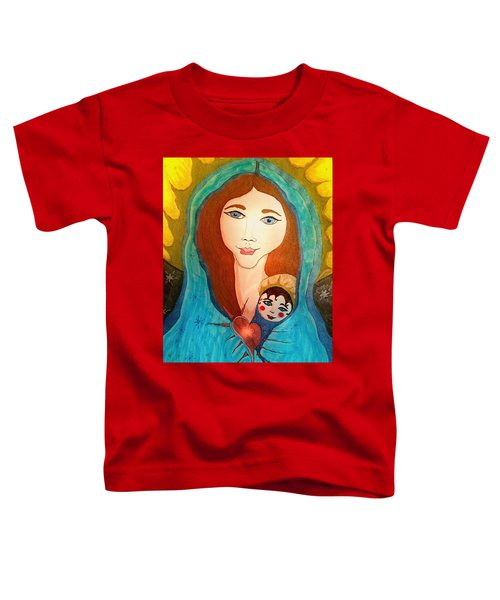 Folk Mother And Child Toddler T-Shirt