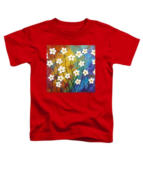 Frangipani Explosion Toddler T-Shirt
