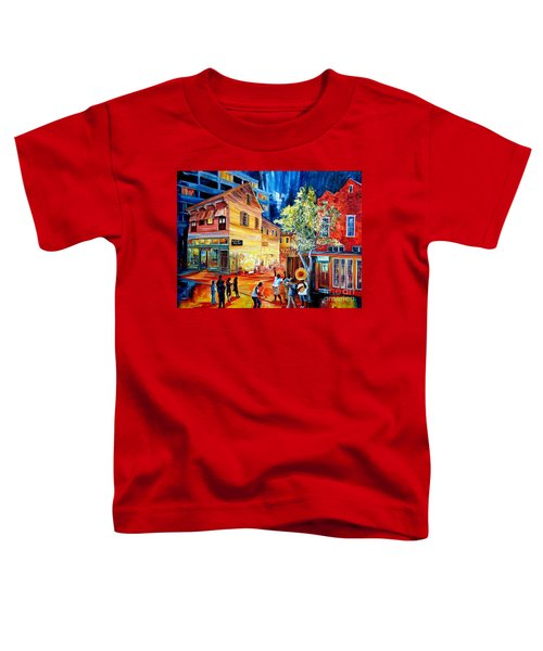 Frenchmen Street Funk Toddler T-Shirt