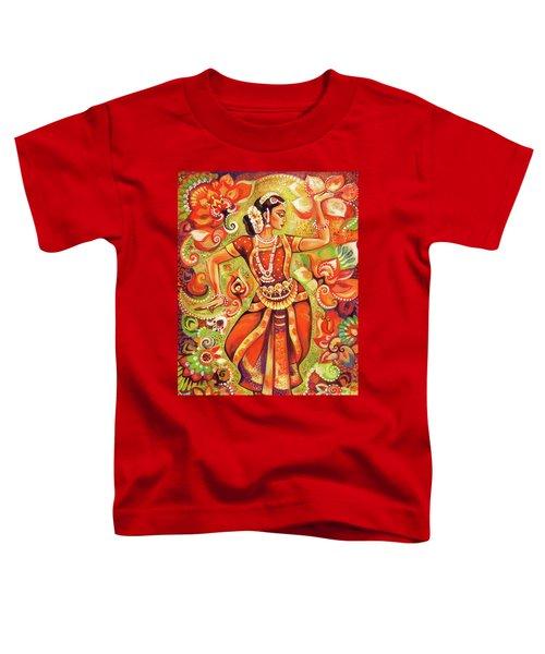 Ganges Flower Toddler T-Shirt by Eva Campbell