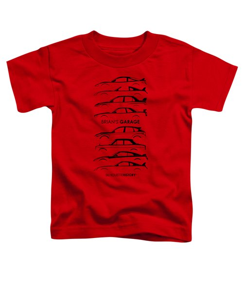 Garage Of Brian Silhouettehistory Toddler T-Shirt