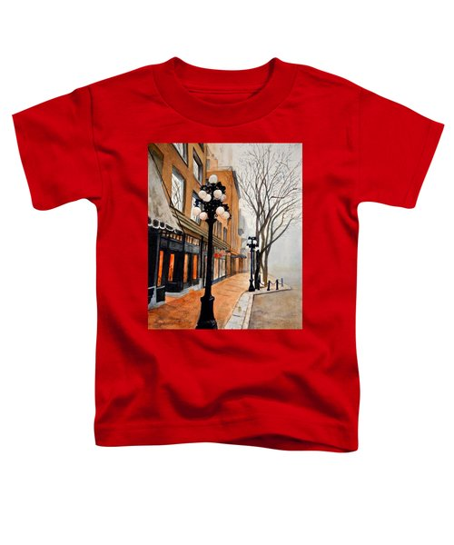 Gastown, Vancouver Toddler T-Shirt