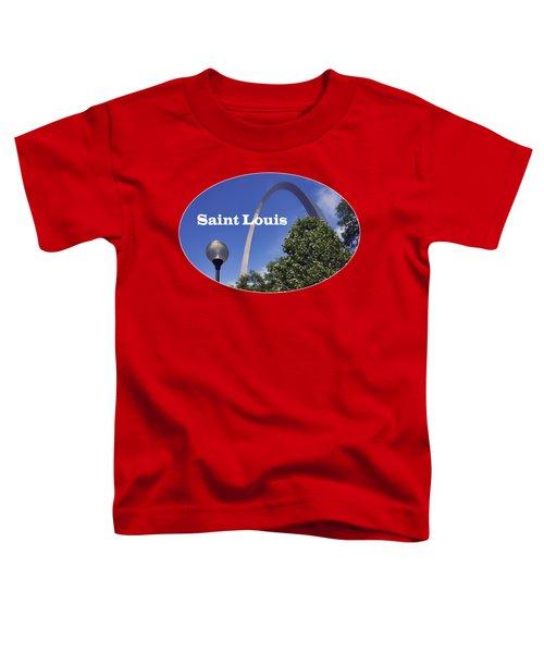 Gateway Arch - Saint Louis - Transparent Toddler T-Shirt