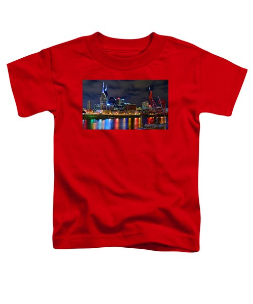 Ghost Ballet In Nashville Toddler T-Shirt by Frozen in Time Fine Art Photography