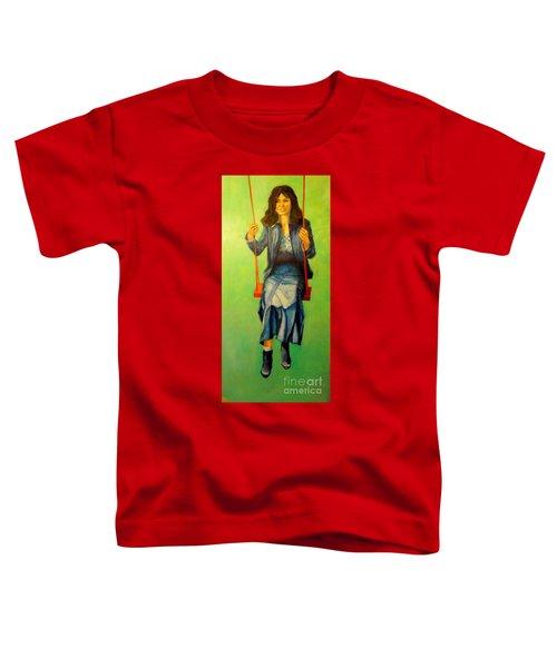 Girl On The Swing  80x160 Cm Toddler T-Shirt