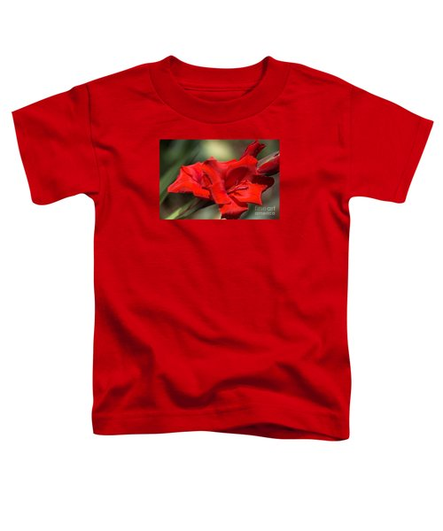 Gladioli Manhattan Variety  Toddler T-Shirt