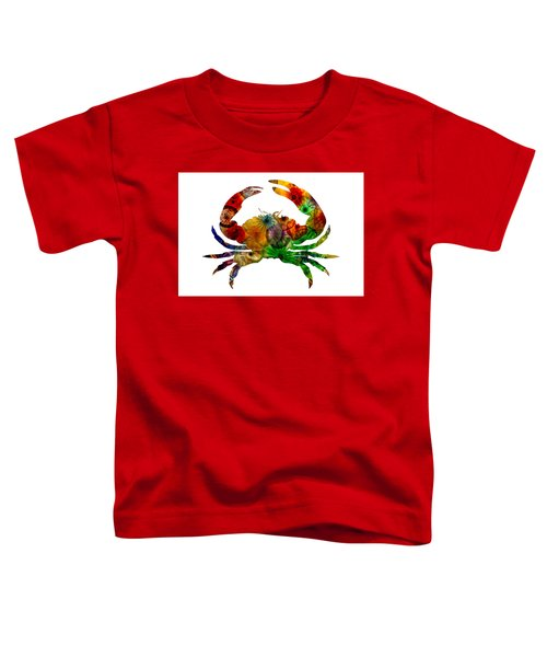 Glass Crab Toddler T-Shirt