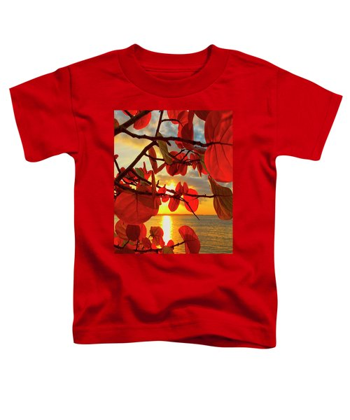 Glowing Red Toddler T-Shirt
