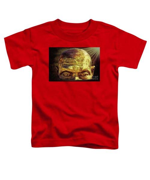 Gold Face Toddler T-Shirt