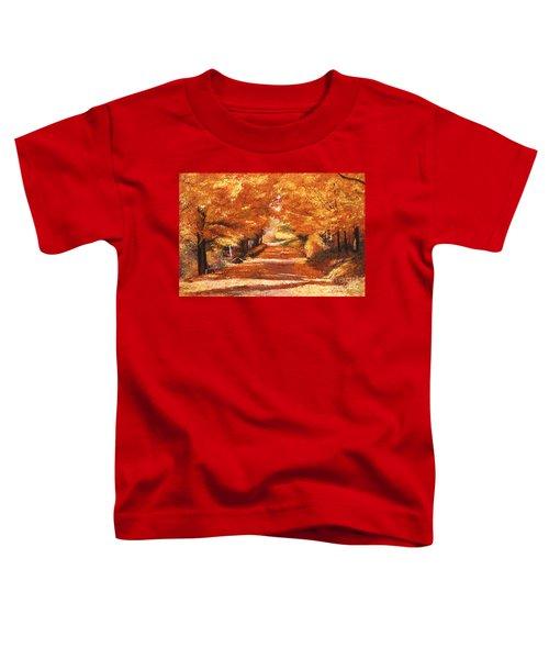 Golden Autumn Toddler T-Shirt