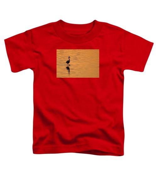 Golden Egret Toddler T-Shirt