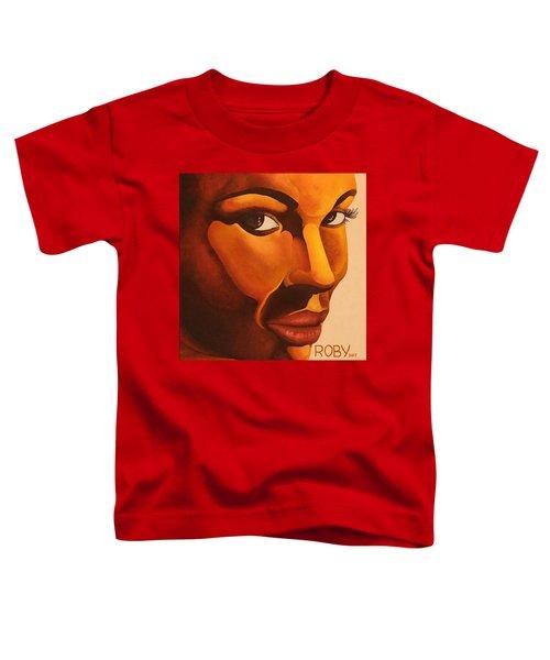 Golden Lady Toddler T-Shirt