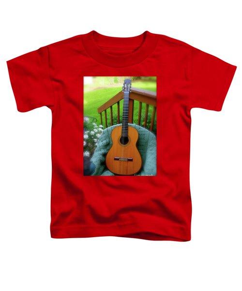Guitar Awaiting Toddler T-Shirt