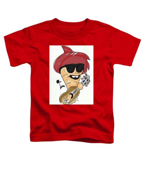 Guitar Ice Cream Toddler T-Shirt