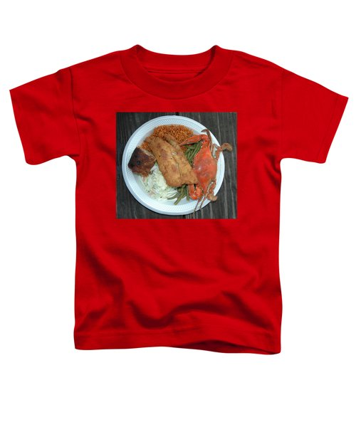 Gullah Plate Toddler T-Shirt