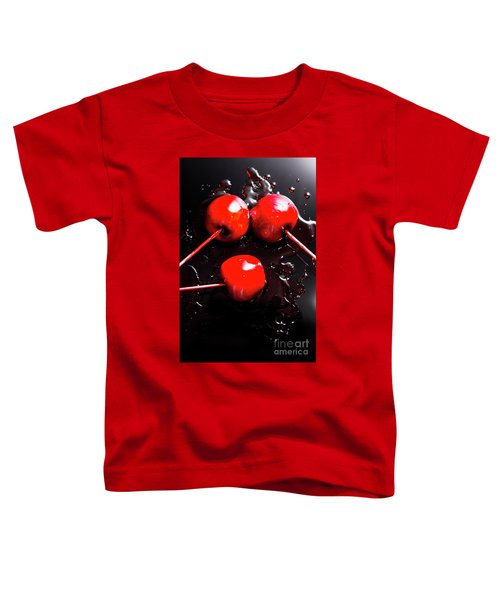 Halloween Toffee Apples Toddler T-Shirt