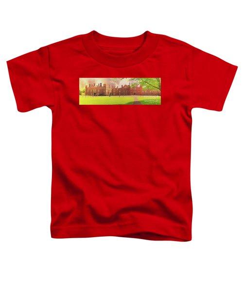 Hampton Court Palace Panorama Toddler T-Shirt