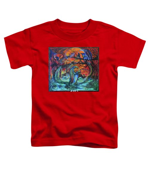 Harvesters Of The Autumnal Swamp Toddler T-Shirt