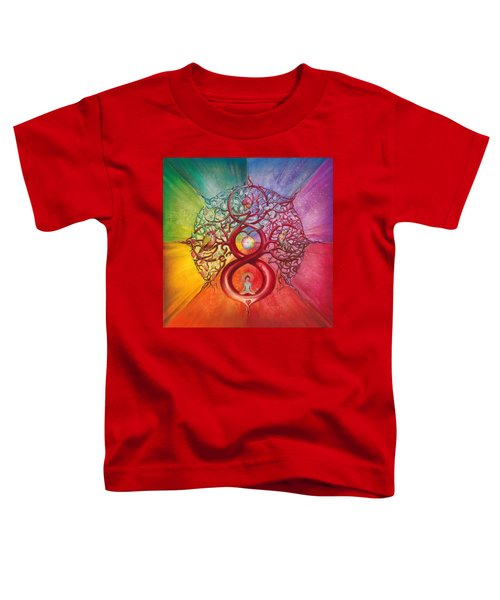 Heart Of Infinity Toddler T-Shirt