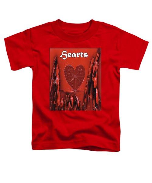 Hearts Suit Toddler T-Shirt