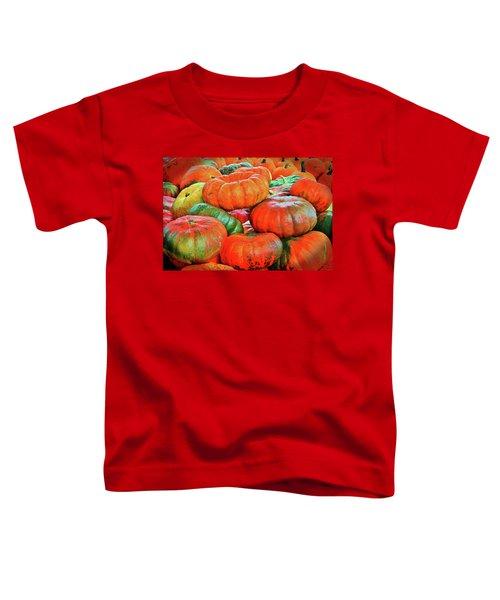 Heirloom Pumpkins Toddler T-Shirt