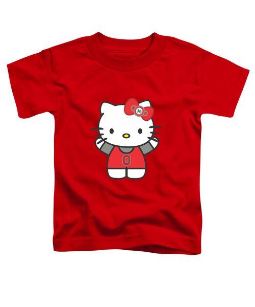 Hello Kitty - Ohio State Toddler T-Shirt