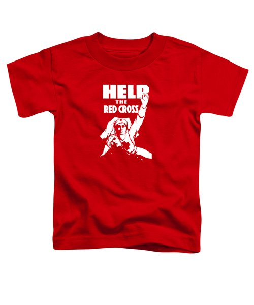 Help The Red Cross Toddler T-Shirt