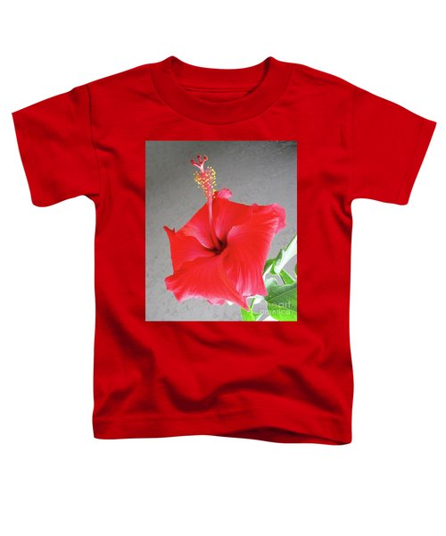 Hibiscus #2 Toddler T-Shirt