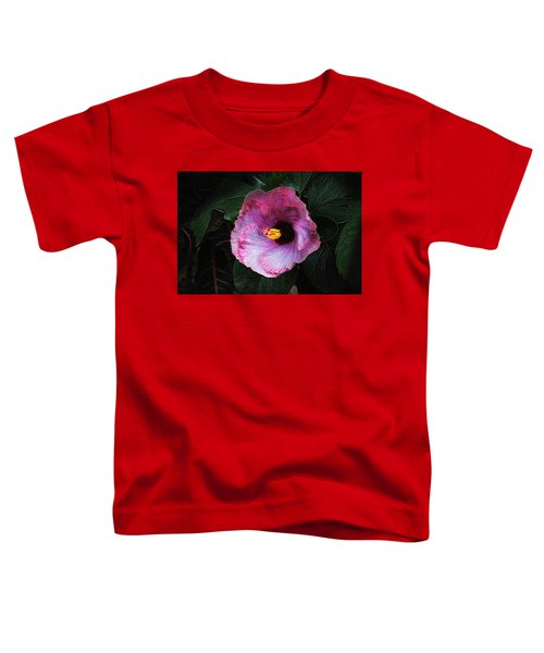 Hibiscus Flower Toddler T-Shirt