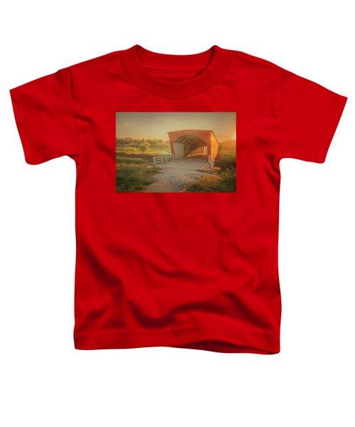 Hogback Covered Bridge Toddler T-Shirt