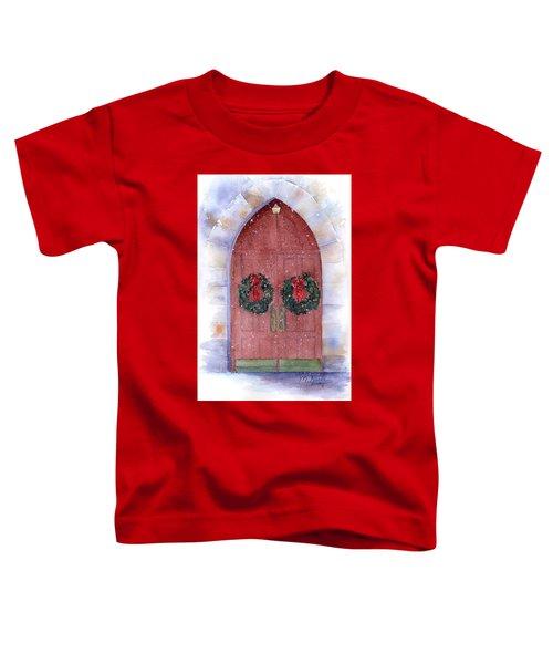 Holiday Chapel Toddler T-Shirt