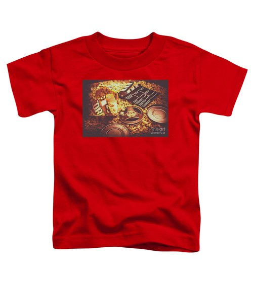 Home Cinema Art Toddler T-Shirt