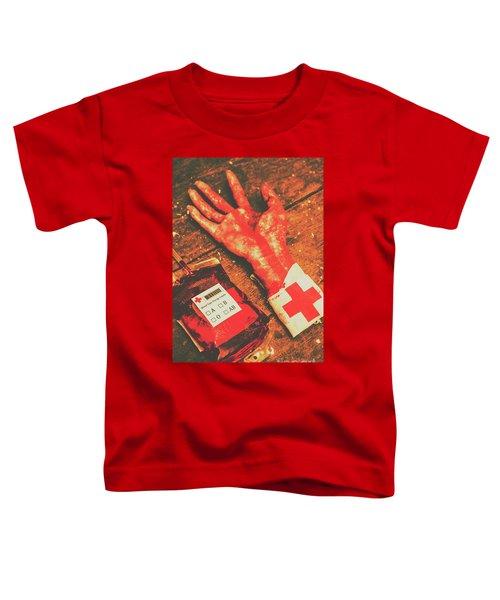 Horror Hospital Scenes Toddler T-Shirt