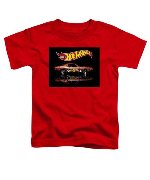 Hot Wheels '70 Dodge Challenger Toddler T-Shirt