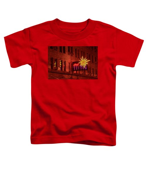 Hotel Triton Neon Sign Toddler T-Shirt