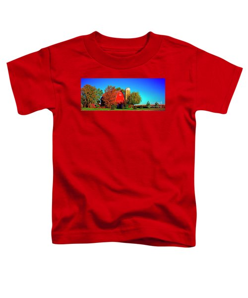 Huntley Road Barn Early Morning Toddler T-Shirt