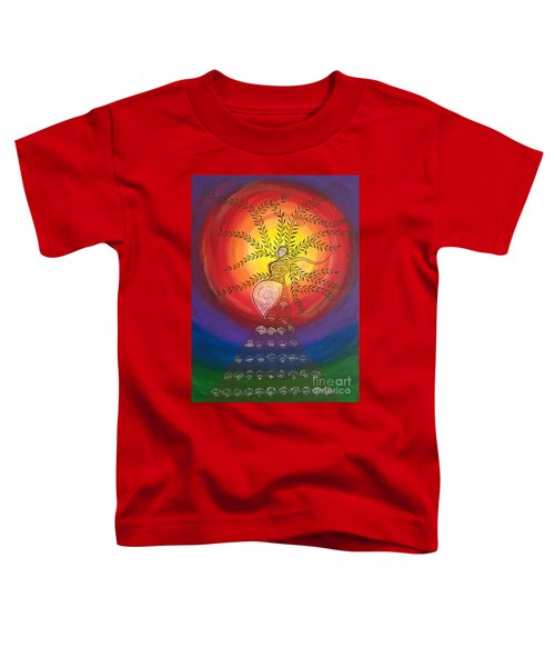 I Carry The Universe In Me Toddler T-Shirt
