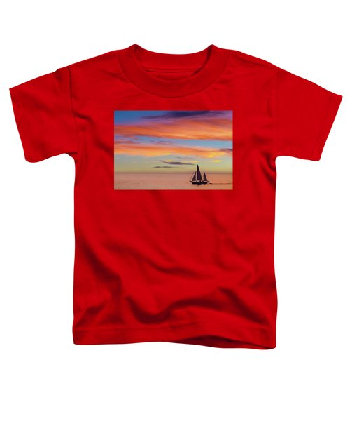 I Will Sail Away, And Take Your Heart With Me Toddler T-Shirt