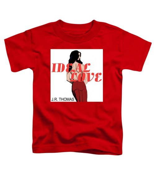 Toddler T-Shirt featuring the digital art Ideal Love Cover by Jayvon Thomas