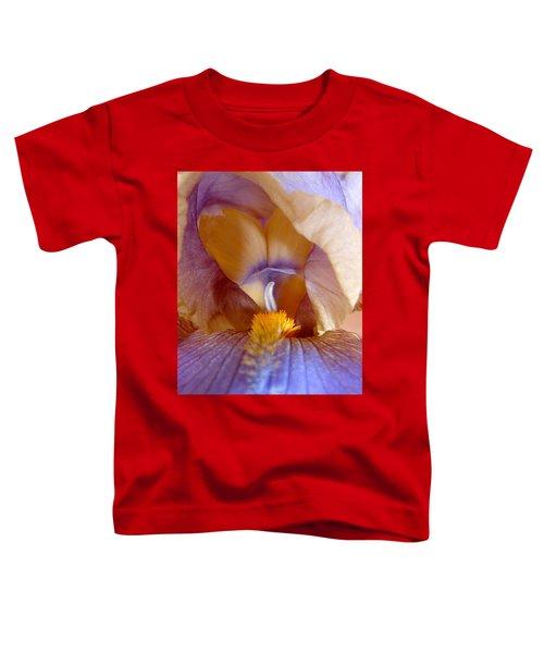 Inner Iris Series, Yellow Purple Toddler T-Shirt