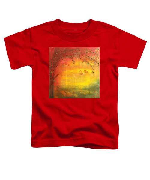Into Fall - Tree Series Toddler T-Shirt
